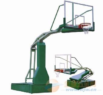 成都移动电动液压篮球架厂家价格
