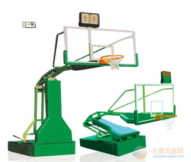 成都手动液压篮球架厂家销售安装