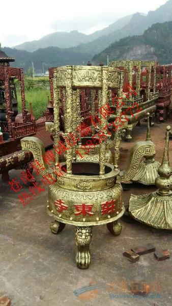 六龙柱香炉厂家 寺庙六龙柱香炉 铜六龙柱香炉