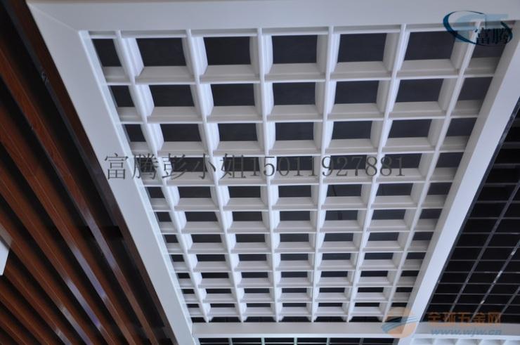 装饰公司铝格栅吊顶-富腾乐斯尔-铝格珊厂家|供应商