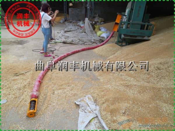 牛筋管抽粮机价格保定 玉米小麦吸粮机