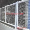 厂家直供钢板网 小区安全防护框架钢板网护栏 批发