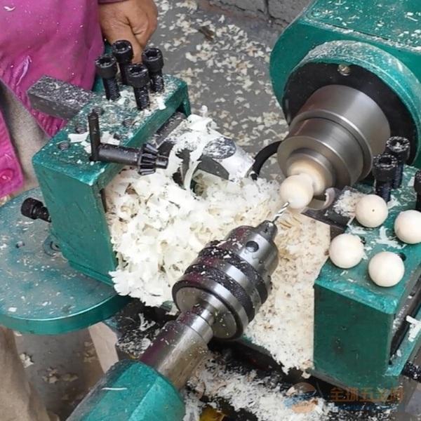 手动木珠机 佛珠机制作机器木工车床厂家