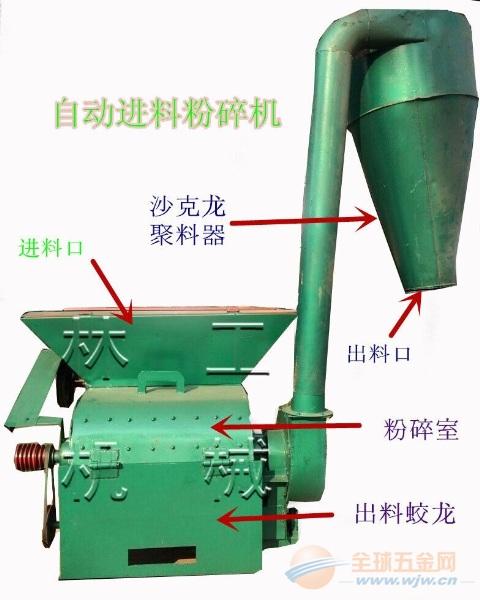 小麦秸秆饲料粉碎机 粉碎机价格