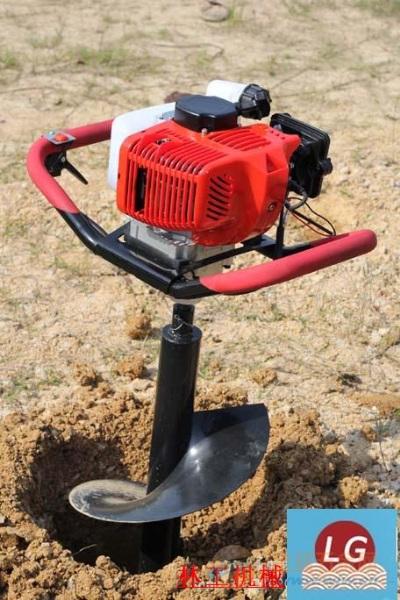 巩义打桩机植树挖坑机价格价格公道
