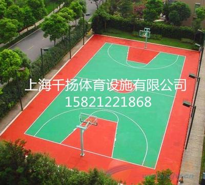 信阳塑胶篮球场