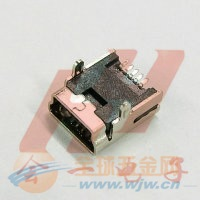 MINI USB 5PF SMT两脚(5.8mm)