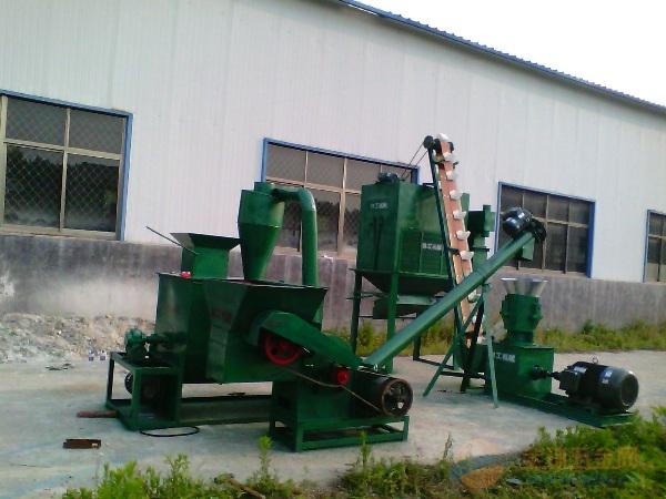 沁阳禽饲料颗粒加工整套机械厂家现货供应