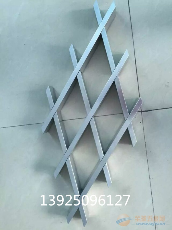 菱形铝格栅结构 生产厂家 价格
