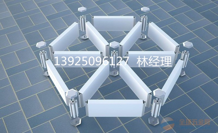 三角形铝格栅结构 图片 生产厂家 结构