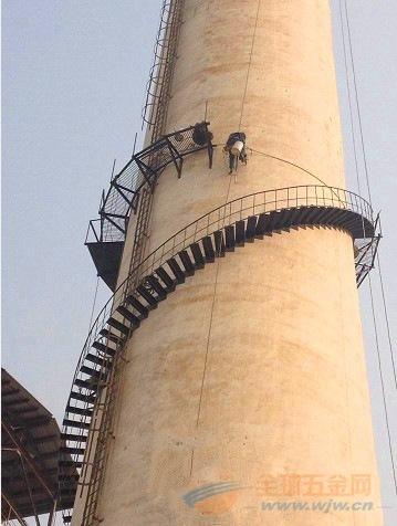 宜昌烟囱安装爬梯