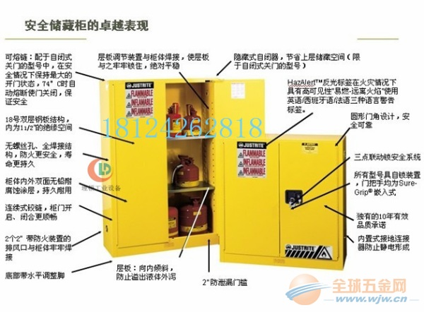 车间常用防火安全柜