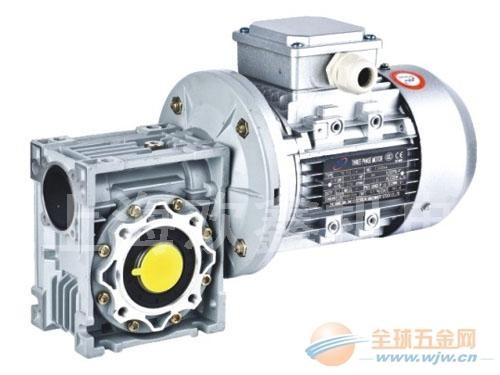 RV110-80-Y1.5KW铝合金涡轮减速电机生产厂家