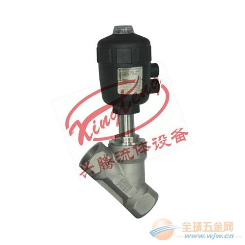 塑料头气动角座阀内螺纹DN15