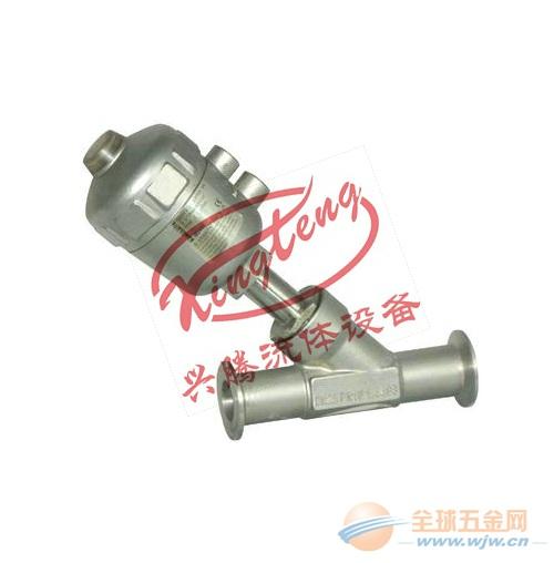 【厂家直销】气动Y型阀,Y型气动阀dn25,316L气动阀