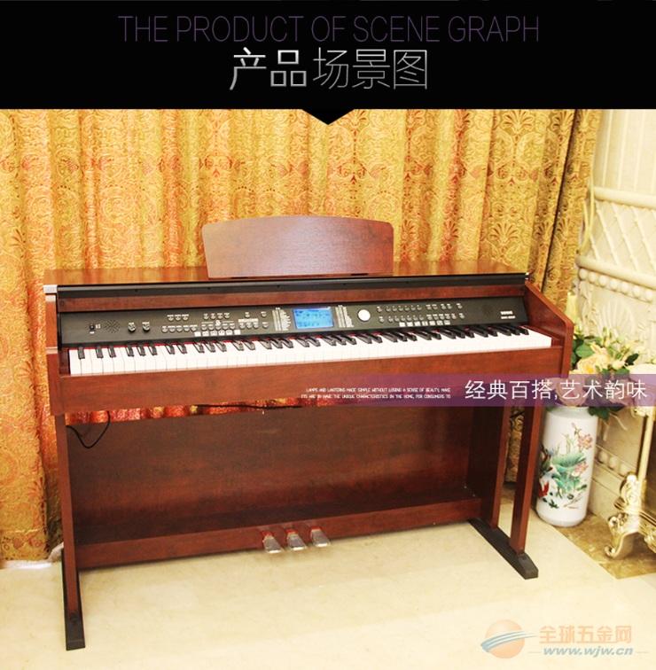 钢琴881S 学校音乐教室用电钢琴 广州电钢琴批发