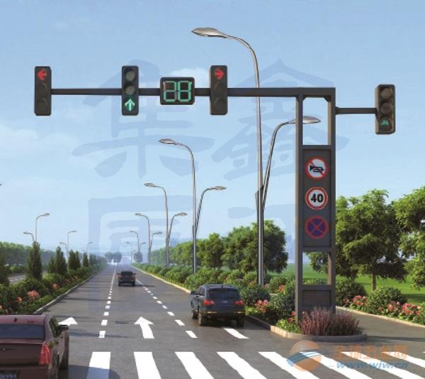 T型框架信号灯杆,新疆信号灯杆厂家,XT-012