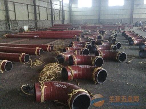 福建泉州市衬瓷弯头陶瓷管直销-技术指标-性能参数-耐磨、耐高温、耐腐蚀