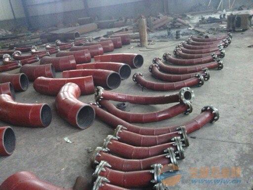 湖北荆门衬瓷弯头陶瓷管直销-技术指标-性能参数-耐磨、耐高温、耐腐蚀