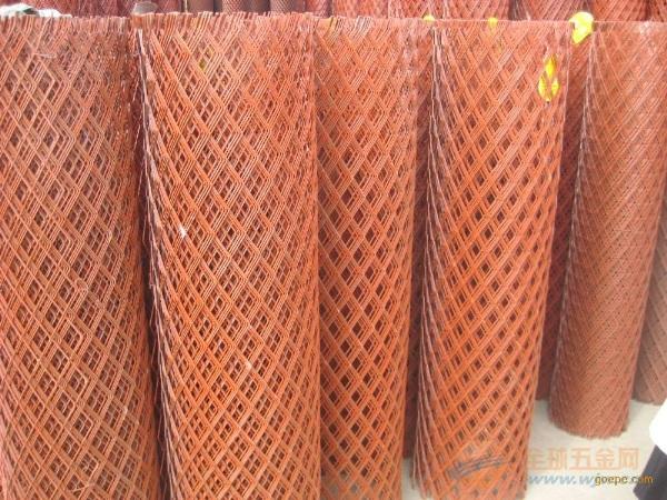 菱形钢板网销售厂家浸塑钢板网护栏