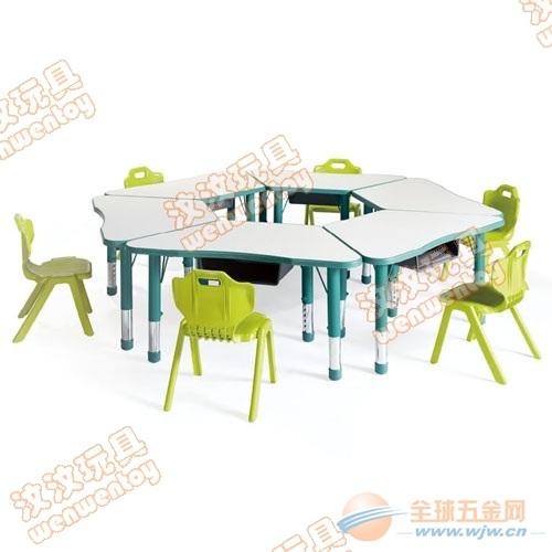 茂名儿童桌椅厂家,幼儿园桌椅批发价,儿童桌椅出厂价
